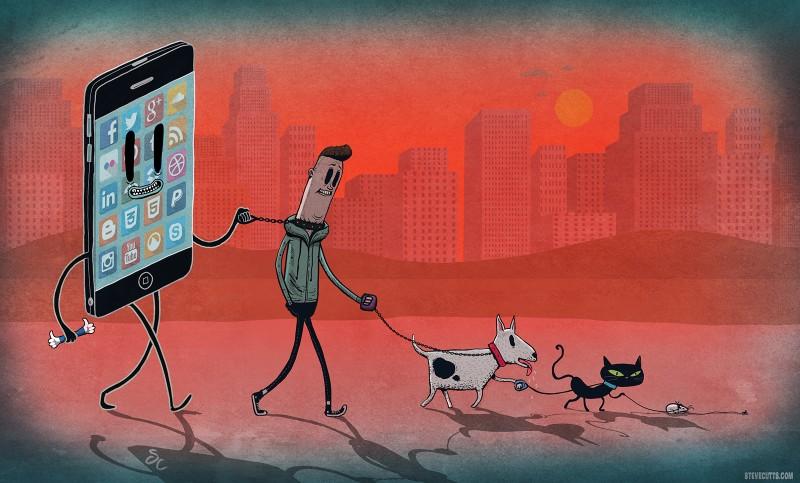 Aceste ilustratii sunt probabil cele mai fidele reprezentari ale vietii moderne (4)