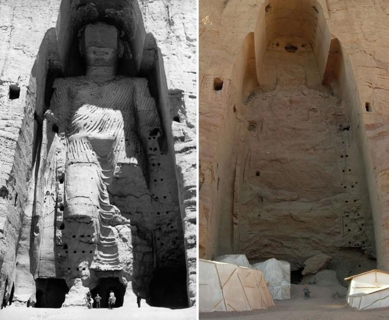 Dupa Ce Au fost Distruse De Talibani 2 Statui Uriase Ale Lui Buddha Au Fost Reinviate 3D (4)