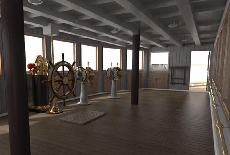 Titanic II - O Replica Fidela A Titanicului Va Naviga Din 2018  (9)