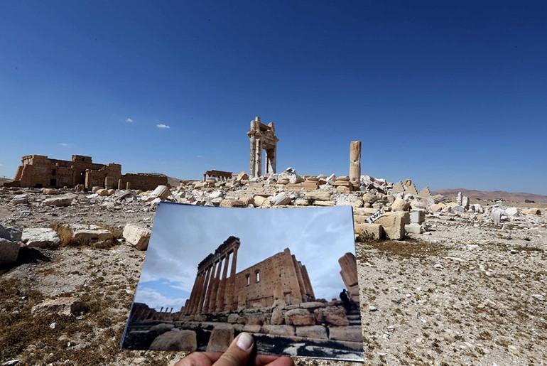 Monumentele Din Palmyra. Ce A Ramas In Urma ISIS (1)