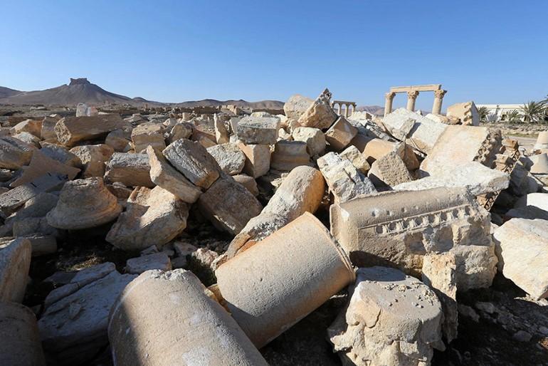 Monumentele Din Palmyra. Ce A Ramas In Urma ISIS (2)