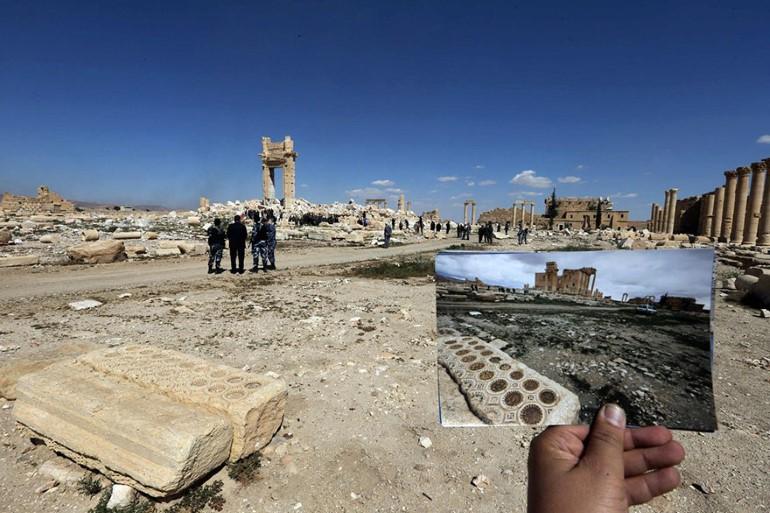 Monumentele Din Palmyra. Ce A Ramas In Urma ISIS (3)