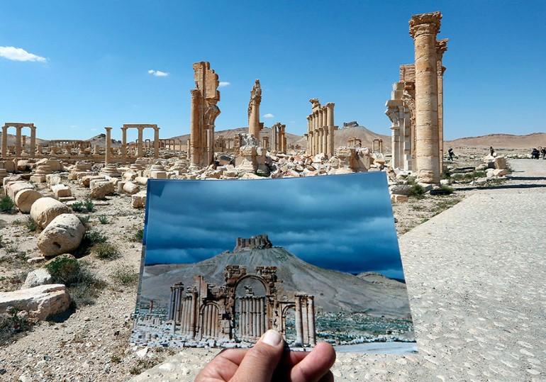 Monumentele Din Palmyra. Ce A Ramas In Urma ISIS (4)