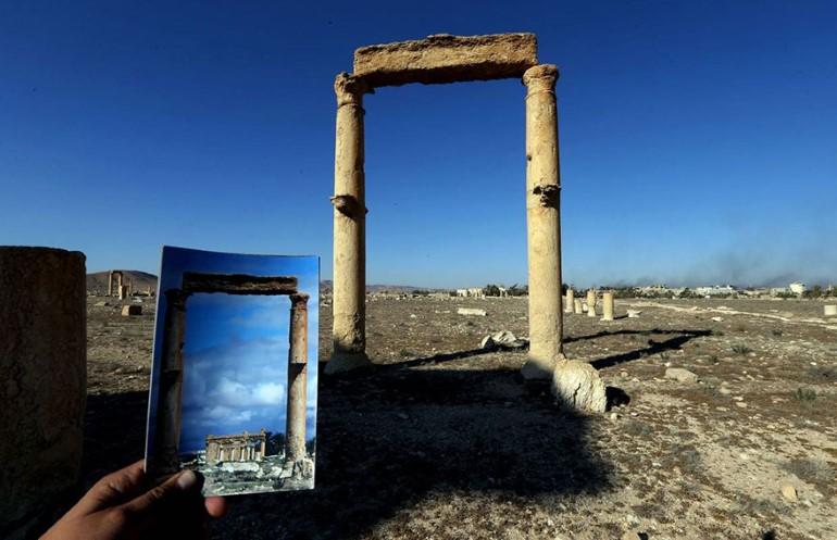 Monumentele Din Palmyra. Ce A Ramas In Urma ISIS (6)