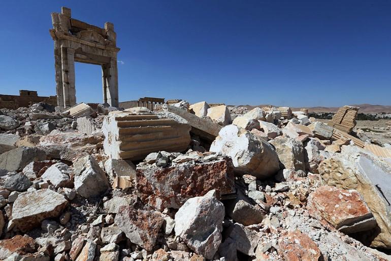 Monumentele Din Palmyra. Ce A Ramas In Urma ISIS (9)