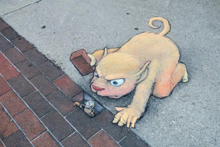 Arta Stradala Temporara Pe Strazile Ann Arbor (5)