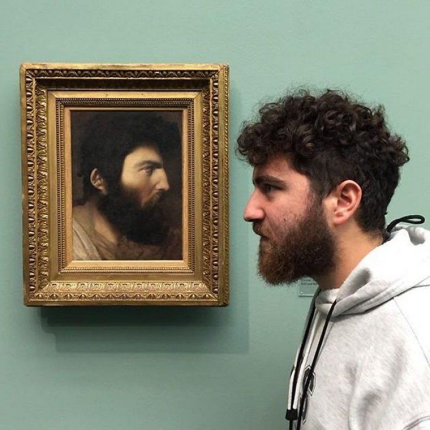 10 Oameni Care Intamplator Si-au Regasit Chipurile In Tablouri Expuse In Muzee 1