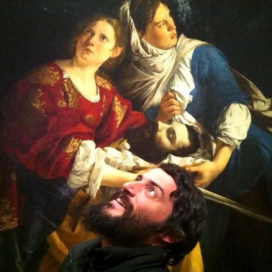 10 Oameni Care Intamplator Si-au Regasit Chipurile In Tablouri Expuse In Muzee 7