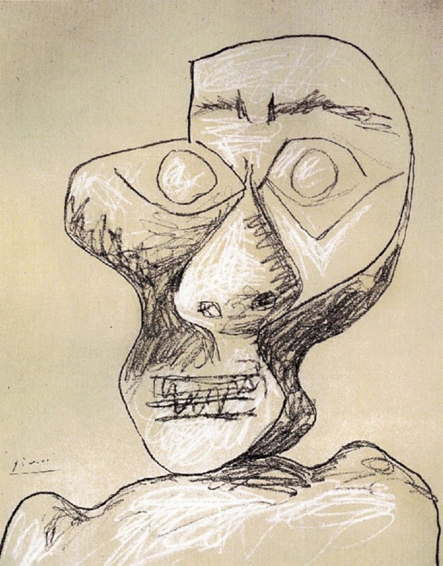 Autoportrete Realizate de Pablo Picasso De La Varsta De 15 ani Pana La 90 De Ani 12