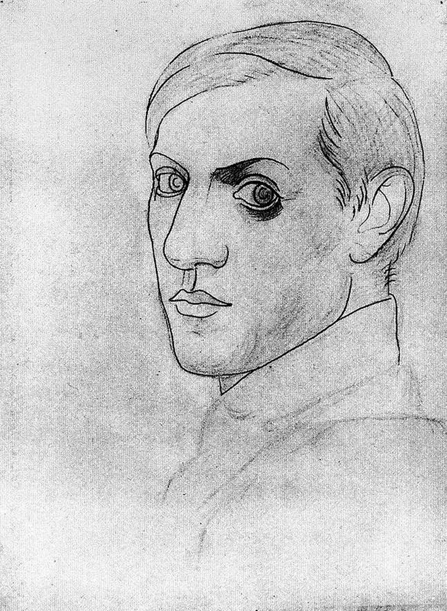 Autoportrete Realizate de Pablo Picasso De La Varsta De 15 ani Pana La 90 De Ani 5