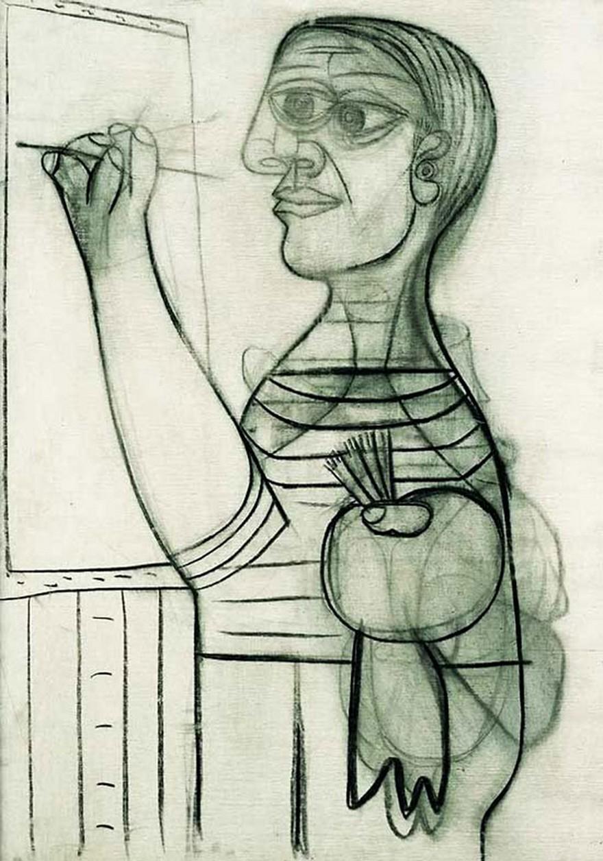 Autoportrete Realizate de Pablo Picasso De La Varsta De 15 ani Pana La 90 De Ani 6
