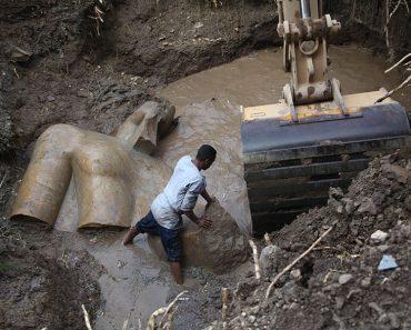 O Statuie Veche De 3000 De Ani Reprezentand Pe Ramses Al II-lea Descoperita In Egipt