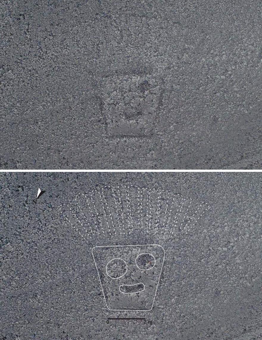 143 de Noi Geoglife Descoperite in Regiunea Nazca Pampa, Peru